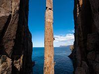 Экстрим фото недели – австралийские скалолазы на мысе Хои