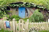 Посещение деревни Хоббитон в Новой Зеландии