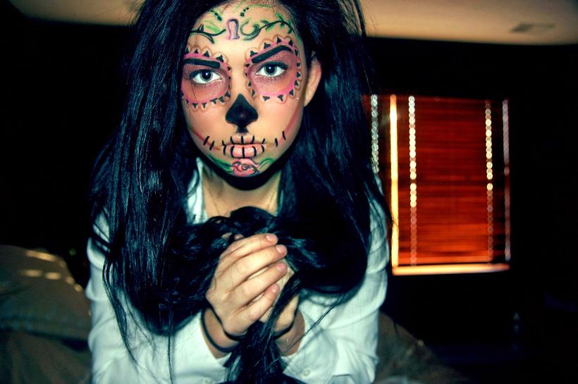 Dead makeup