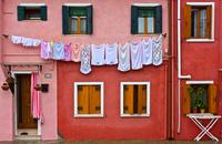 Самый радужный район Венеции – разноцветный Бурано
