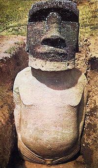 Что скрывает голова на острове Пасхи?