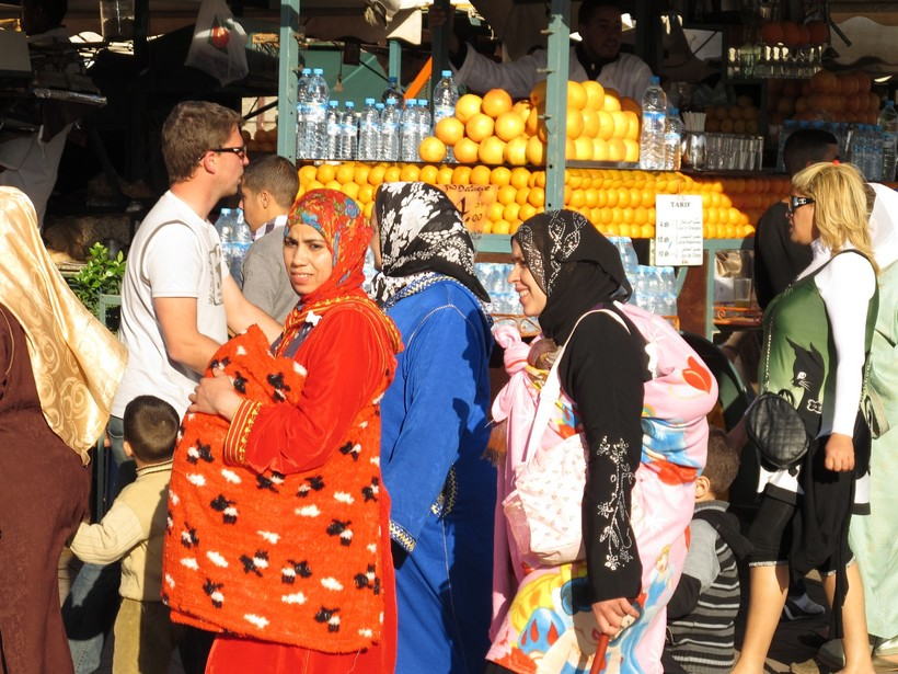 Марокко примет в этом году 100 тыс россиян