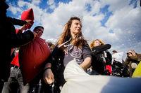 Международный день битвы подушками в Бухаресте