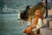 Ришикеш — удивительный город в Индии, где можно встретить самых необычных людей!