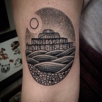 22 татуировки с образами городов, которые откроют в вас страсть к путешествиям