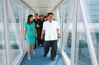 Ким Чен Ын посетил открытие нового терминала в аэропорту в Пхеньяне