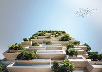 В Швейцарии построят 117-метровый жилой дом, покрытый деревьями