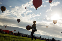 Фестиваль воздушных шаров в Альбукерке