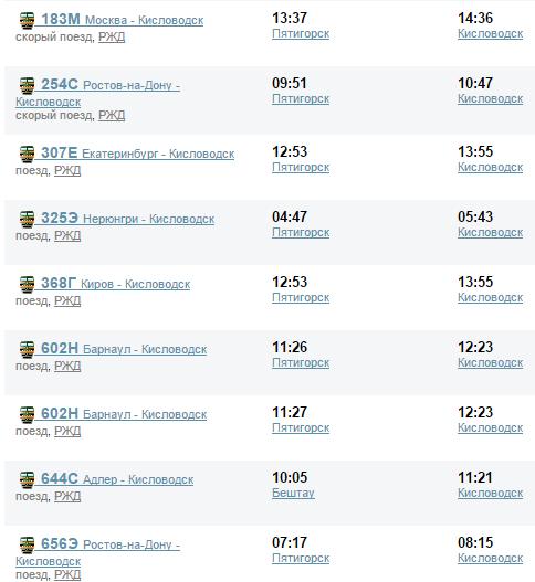 стоимость билета на автобус до кисловодска из махачкалы цанговым