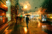 «Дождливые» снимки этого русского уличного фотографа покорили интернет!