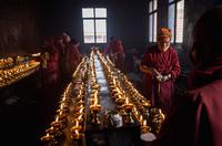 Когда Будда спускается с небес