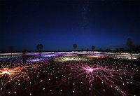 Художник превращает пустыни и поля в сюрреалистические сказки с помощью света