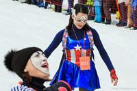 Рекорд России по массовому спуску с горы: Grelka Fest 2016