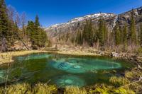 Гейзерное (Голубое) озеро. Алтай