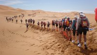 Песчаный марафон в Марокко — тяжелейшее испытание на выносливость