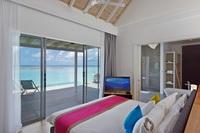 Обновленные виллы Kuramathi Island Resort