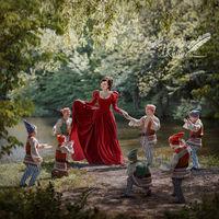 10 потрясных иллюстраций к сказкам, снятых в самых красивых местах Киева