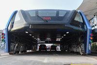 Фантастический автобус, представленный китайцами в мае, теперь существует в реальности!