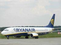 Самолет авиакомпании Рианайр