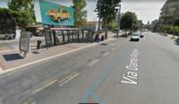 Автобусная остановка в Римини