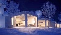 Новости из Лапландии: стеклянные иглу на берегу залива и новые коттеджи в деревне Санта-Клауса!