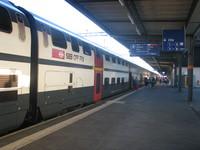 Поезд до Лозанны