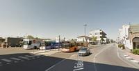 Автостанция в Местре, за ней дальше по улице вокзал