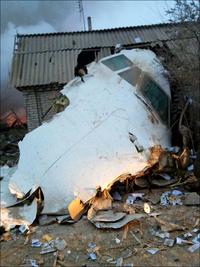Упавший турецкий Boeing разрушил половину поселка в Киргизии: кадры с места трагедии