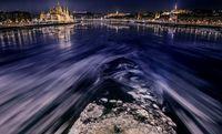 12 обворожительных фото о том, как выглядит великий Дунай в 20-градусный мороз