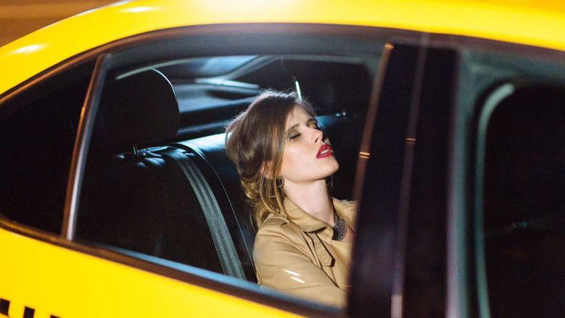 Image result for девушка в такси