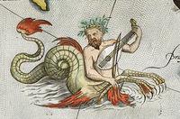 10 старинных карт мира с морскими чудовищами из разных уголков планеты