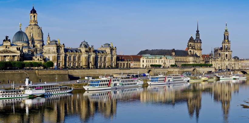 Image result for балкон Европы в центре старого Дрездена