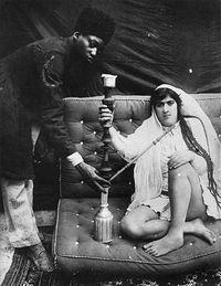 Любопытные фотографии из гарема иранского шаха, в котором было почти 100 женщин