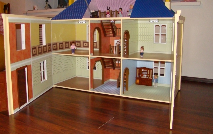 Подсветка в кукольный домик своими руками 63
