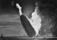 Редкие фотографии, сделанные на борту трагично известного дирижабля «Гинденбург»