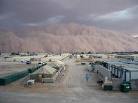 11 фото самых невероятных песчаных бурь, похожих на приближение конца света