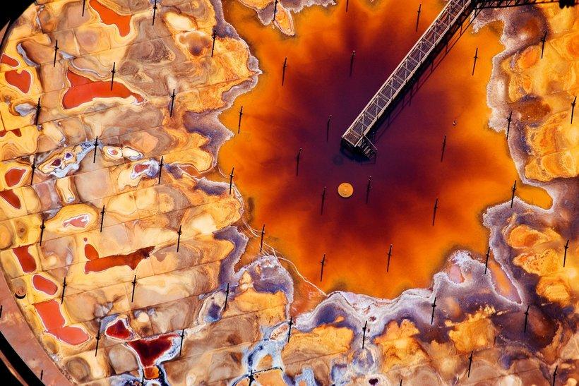 Катастрофические масштабы загрязнения планеты на аэрофотографиях Генри Фэйра