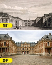 Как изменились знаменитые места мира с тех времен, когда фотография была черно-белой