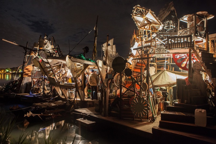 Бесконечный праздник на «Плавучих островах Серениссимы»