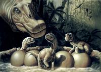 Сколько высиживали яйца динозавры, и причем здесь их вымирание