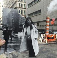 Художник «преображает» скучную городскую жизнь с помощью журнальных вырезок