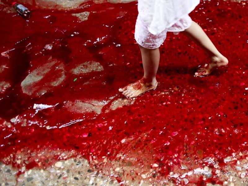 Кровавые реки прямо на улицах города: как отмечают праздник жертвоприношений в Дакке
