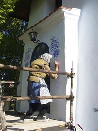90-летняя чешская бабушка превратила небольшую деревню в художественную галерею