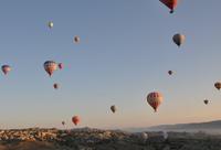 Воздушные шары в турецкой Каппадокии