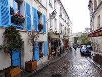 Пасмурные улицы Парижа