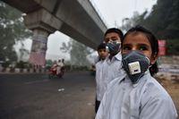 12 страшных фото о смертельном смоге, охватившем Нью-Дели