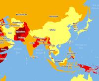Карты самых опасных стран на планете для тех, кто планирует путешествия на 2018 год