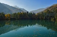 Невероятное озеро Церик-Кёль: голубая бездна Кавказа