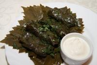 Традиционное блюдо, долма