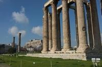Акрополь, февраль в Афинах